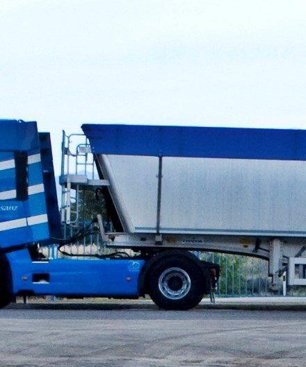 Transporte de cereal